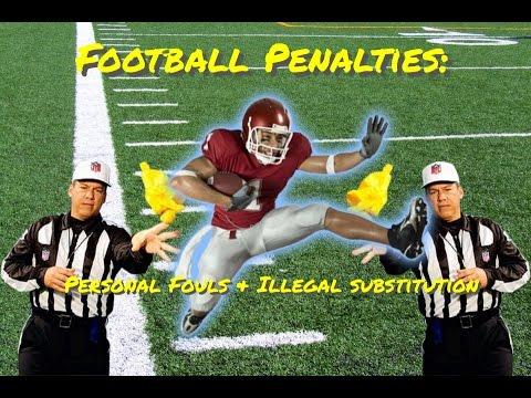 Football Penalties: Personal Fouls (Holding & Hurdling ...