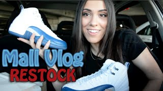 Mall Vlog | Champs Restocks the Jordan French Blue 12's | &More..