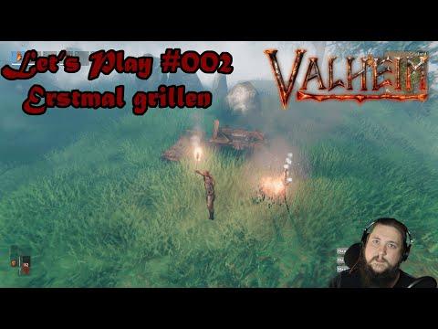 Erstmal grillen - Valheim Let's Play #002 - Deutsch