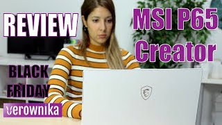 Review Ultrabook MSI P65 Creator | Recomendación Black Friday