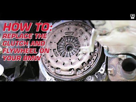 BMW clutch and flywheel replacement DIY by Schmiedmann