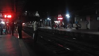 Night blast ! Bengaluru City - Ajmer Garib Nawaz Express ....