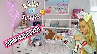 BACK TO SCHOOL 📚 ROOMTOUR 2018 Schule Makeover MaVie