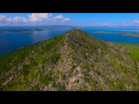 База отдыха 'Аюда'. 2016 видео 4K Бухтарминское водохранилище. Казахстан. ВКО.