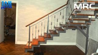 видео Внутренняя лестница – из чего и как