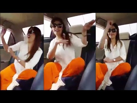 Dance Video | Beautiful girl dance on Dila Teer Bija PPP Song in car