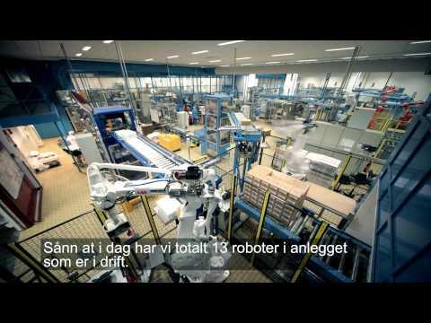 RobotNorge - kunde i næringsmiddelindustrien