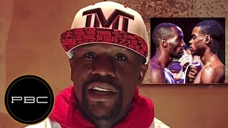 Floyd Mayweather CRITICIZES Terence Crawford for the ULTIMATE Mistake by Allowing Errol Spence to...