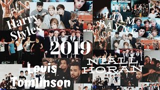 1D members I Their year 2019