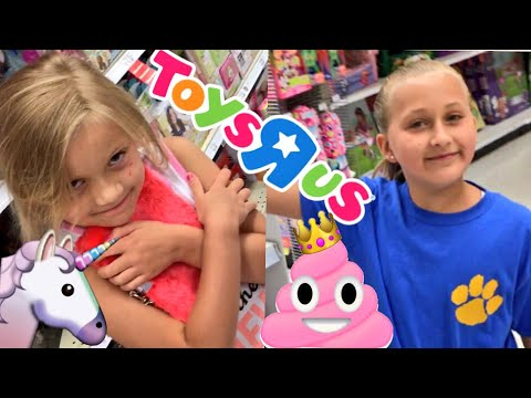 DADDY (GRIM) TAKES US TOY SHOPPING AT TOYSRUS! WE GOT GREAT STUFF!