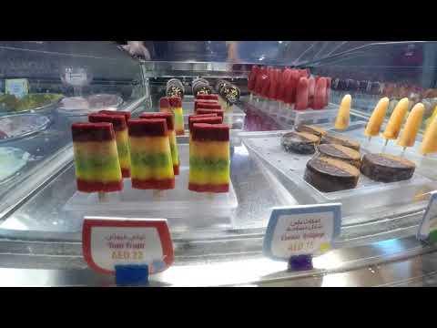The Works gelateria italia at The Dubai Mall