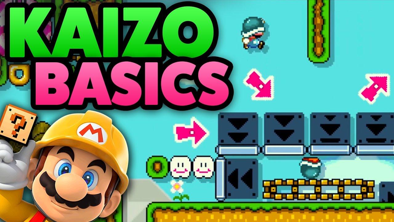 Super Mario Maker - KAIZO BASICS [PRACTICE] - Level Showcase