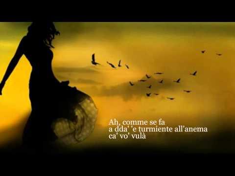 Mia Martini e Roberto Murolo -- Cu'mme (testo-lyrics)