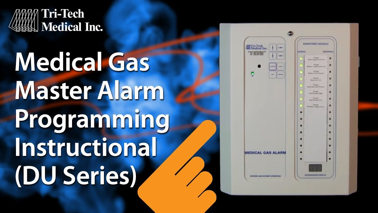 maxresdefault medical gas alarms master alarm programming by tri tech medical medical gas alarm panel wiring diagram at gsmx.co