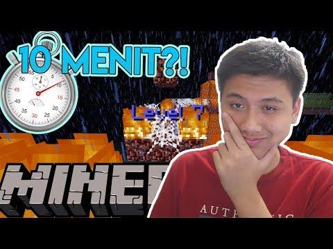 HARUS SELESAI DALAM 10 MENIT!! - Minecraft Indonesia Parkour Challenge