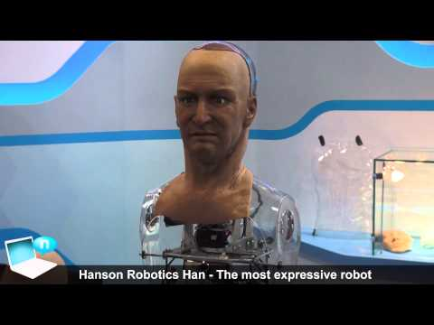 Hanson Robotics Han the most expressive robot in the world