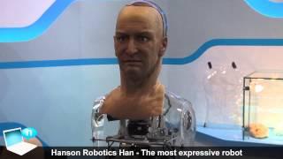 """""""Künstliche Menschen in einer Fake-Welt erwartet uns"""" Hanson Robotics"""