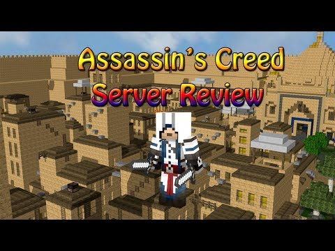 Minecraft - Assassin's Creed Server Review -
