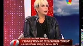 Carmen Barbieri en Intrusos  La griega maneja a Moria
