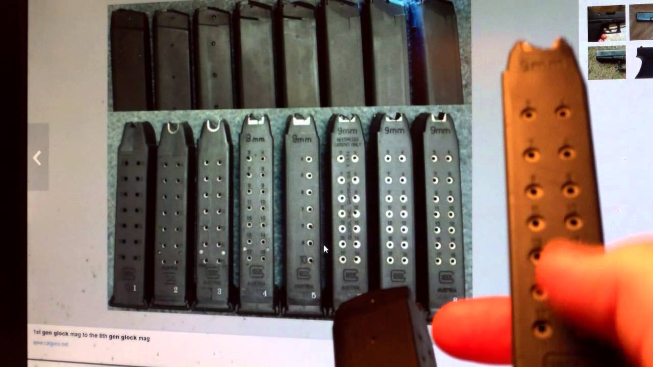 issues the rd gen glock rnd mm magazine issues the 3rd gen glock 17rnd 9mm magazine
