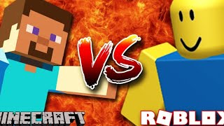Minecraft oof vs roblox oof for 1 hour