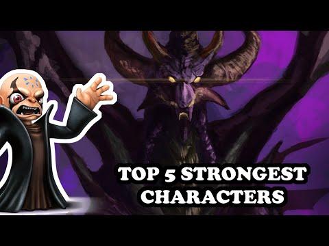 Skylanders - TOP 5 STRONGEST CHARACTERS IN ALL THE SAGA |