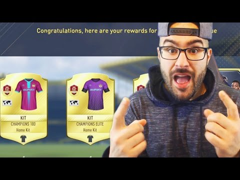 TOP 100 MONTHLY REWARDS FUT CHAMPIONS! FIFA 17 WEEKEND LEAUGE