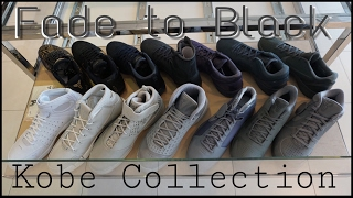 """Soleciety Sneaker Shop Nike Kobe """"Fade to Black"""" collection"""