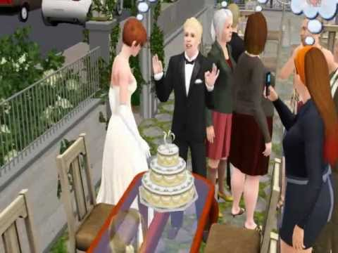 where is the wedding cake in sims 3 generations sims 3 cutting the wedding cake 27146