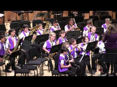 Feb. 25, 2015: The Escalante Middle School 6th-Grade Band