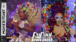RuPaul's Drag Race Down Under Ep 5 | MovieBitches RuView