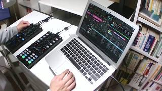 Le plaisir de la mix 23 #Techno mix with NI #TRAKTOR Pro 3, TRAKTOR KONTROL Z1 & X1 Mk2