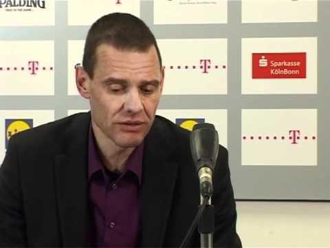 Pressekonferenz Telekom Baskets