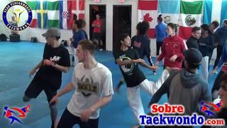 32 Warm up exercises for Taekwondo Olympic style sparring.