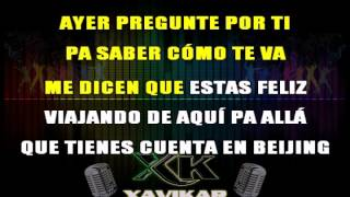 Materialista Silvestre Dangond Ft Nicky Jam Karaoke