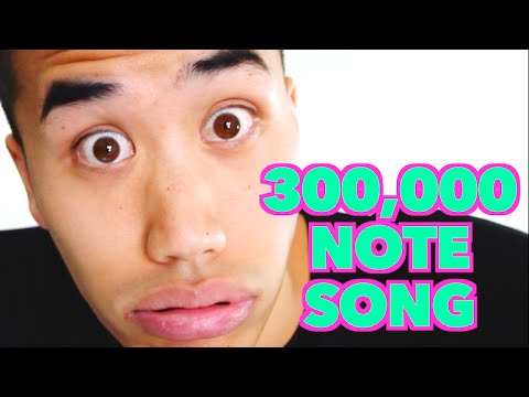 300,000 NOTE SONG | Andrew Huang