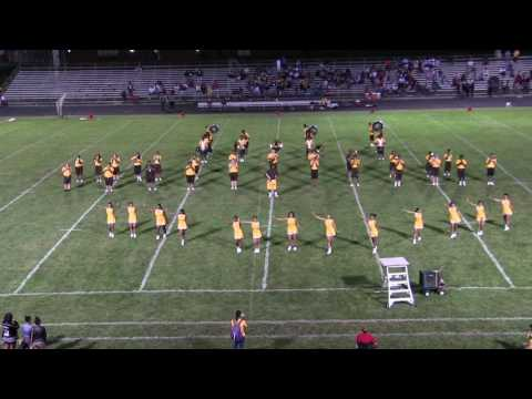 Beechcroft High School Marching Band-Halftime 9-2-16