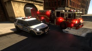 EmergeNYC Multiplayer Player Gameplay Day 7 |Update 0.3.7| FDNY & NYPD Responding To Emergency Calls