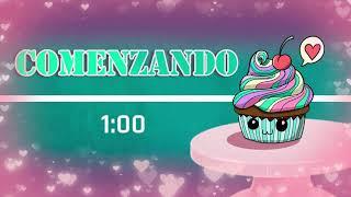 Overlay Gratis en español para OBS o Streamlabs / Tema: cupcakes