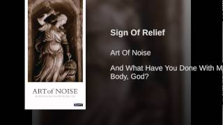 Sign Of Relief