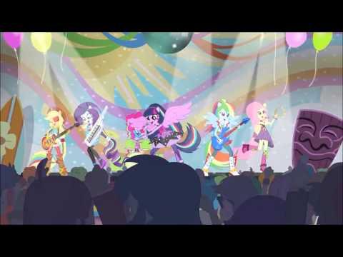 """Goofy Goober Rock"" (Spongebob) Equestira Girls PMV"