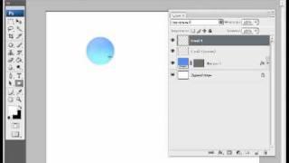 Уроки фотошопа CS3 - Круглая объемная кнопка.avi