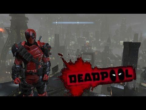 Batman Arkham Origins Deadpool Mod Skin