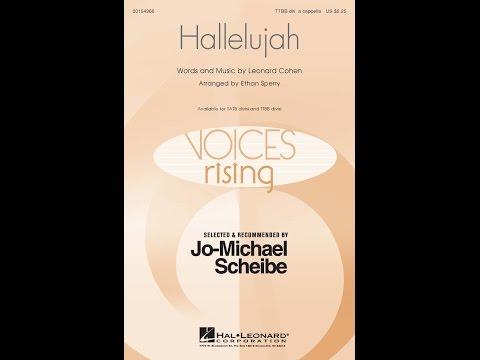 Hallelujah (TTBB) - Arranged by Ethan Sperry