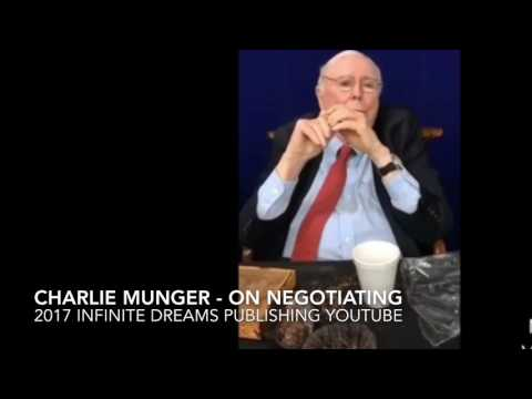 Charlie Munger Interview 2017 - Negotiation Tactics. Ethics with Suppliers. General Electric.