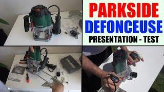 défonceuse parkside pof 1200 a1 lild router oberfräse fresatrice verticale fresadora de superficie