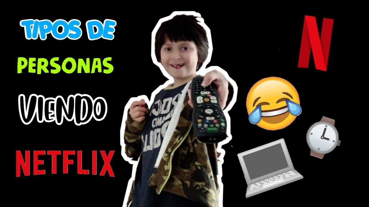 ¡TIPOS DE PERSONAS VIENDO NETFLIX! - Pila la kika!