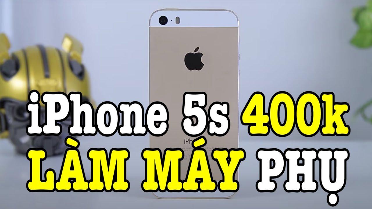 Mình mua iPhone 5s 400k chạy iOS 7 VỀ LÀM MÁY PHỤ và cái kết