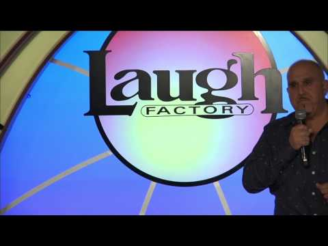 Comedian Michael Parise 30 min set Laugh Factory Las Vegas, NV.