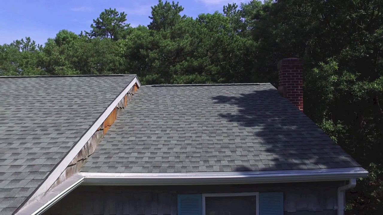 Gaf Roofing Drone Video Of New Gaf Slate Roof In Patchogue